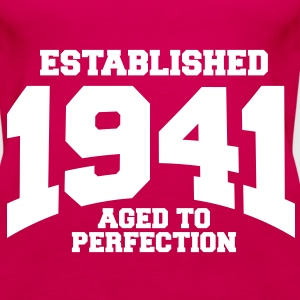 aged to perfection established 1941 (sv) Toppar - Premiumtanktopp dam