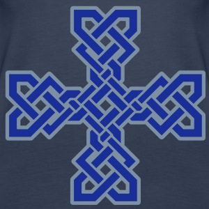 Celtic Cross Tops - Women's Premium Tank Top