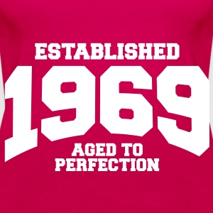 aged to perfection established 1969 (sv) Toppar - Premiumtanktopp dam