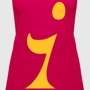 i (gelb) Tops - Frauen Premium Tank Top