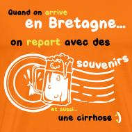 Motif ~ Tee shirt c2b souvenirs breton