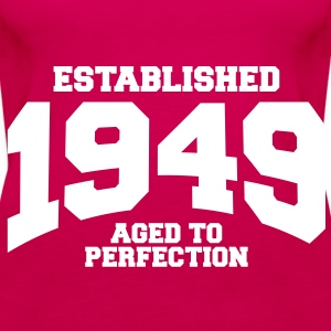 aged to perfection established 1949 (uk) Tops - Women's Premium Tank Top