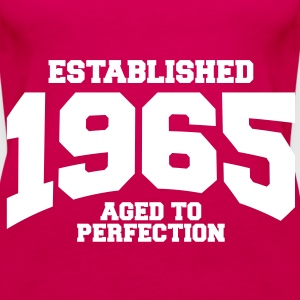 aged to perfection established 1965 (sv) Toppar - Premiumtanktopp dam