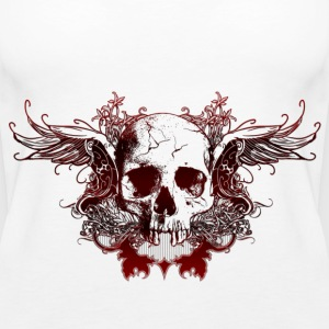 Dark Red Skull - Frauen Premium Tank Top