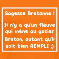 Motif ~ Tshirt homme sagesse bretonne