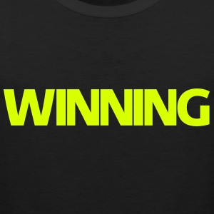 WINNING | Mens Tank Top - Men's Premium Tank Top
