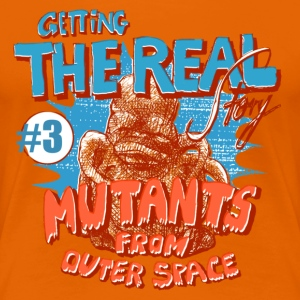 mutants from outer space - Frauen Premium T-Shirt
