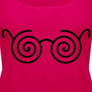 Brille Tops - Frauen Premium Tank Top