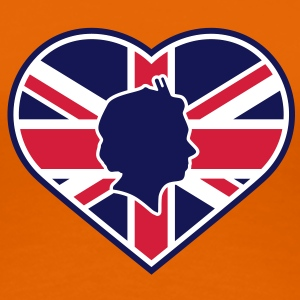 Love Queen Diamond Jubilee © T-Shirts - Frauen Premium T-Shirt