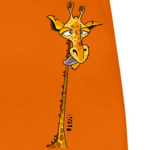 Girafe tête