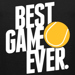 tennis - best game ever T-Shirts - Männer Premium Tank Top