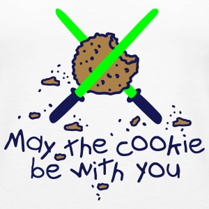 May the cookie be with you Tops - Frauen Premium Tank Top