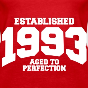 aged to perfection established 1993 (sv) Toppar - Premiumtanktopp dam