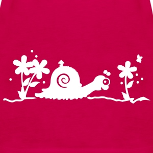 Die Schnecke / the snail (1c) Tops - Women's Premium Tank Top