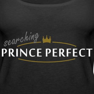 prince perfect (2c) Tops - Women's Premium Tank Top