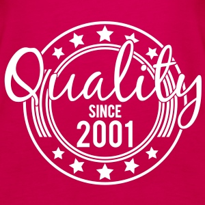 Birthday - Quality since 2001 (nl) Tops - Vrouwen Premium tank top