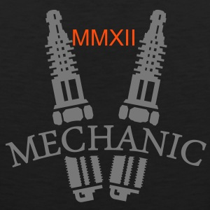 Mechaniker / mechanic (1c) T-Shirts - Men's Premium Tank Top