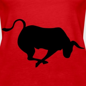 Charging Bull Tops - Women's Premium Tank Top