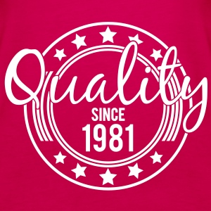 Birthday - Quality since 1981 (nl) Tops - Vrouwen Premium tank top