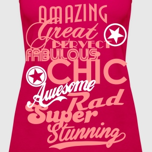 The Awesome Collection Tops - Women's Premium Tank Top