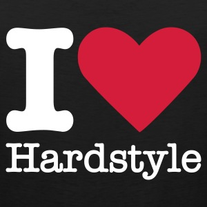 I Love Hardstyle T-Shirts - Men's Premium Tank Top