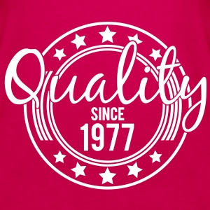 Birthday - Quality since 1977 Tops - Vrouwen Premium tank top