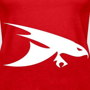 bird of prey Tops - Frauen Premium Tank Top