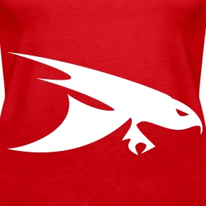 bird of prey Tops - Vrouwen Premium tank top