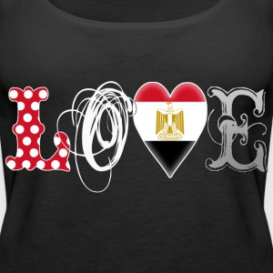 Love Egypt White Tops - Women's Premium Tank Top