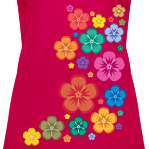 New Age Flower Power Tops - Frauen Premium Tank Top