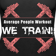 Design ~ WOMENS We Train (Tank)