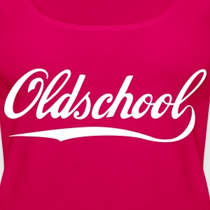 Oldschool Tops - Frauen Premium Tank Top