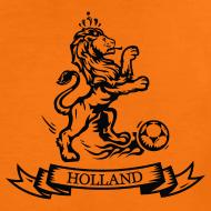 Design ~ Custom Retro Holland Lion emblem football shirt