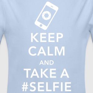 funny Keep calm take a selfie #selfie meme phone Sweats - Body bébé bio manches longues