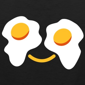 FRIED egg face sunny side up eggs for eyes T-Shirts - Men's Premium Tank Top