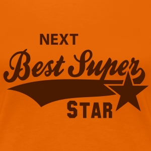 NEXT Best Super STAR Women's T-Shirt BO - Dame premium T-shirt