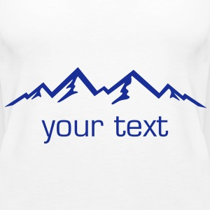 Mountains, Alps, Nature - Women's Premium Tank Top