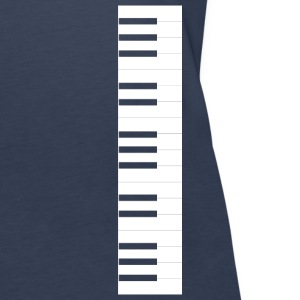 Piano keyboard Tops - Women's Premium Tank Top