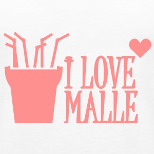 I love Malle (1c) Tops - Frauen Premium Tank Top