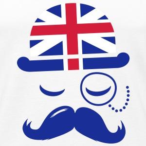 Gentleman anglais vintage avec moustache tee shirts d 233 bardeur
