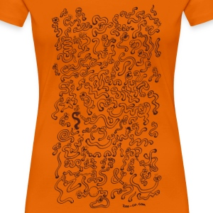 Worms Attack! T-Shirts - Women's Premium T-Shirt