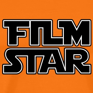 Film Star T-Shirts - Premium T-skjorte for menn