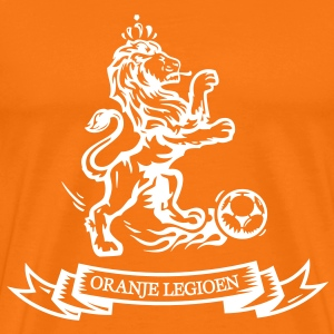 Holland Orange Legion Lion euro football World Championship jersey T-Shirts - Men's Premium T-Shirt