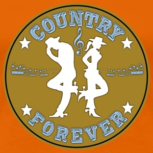 country forever T-Shirts - Women's Premium T-Shirt