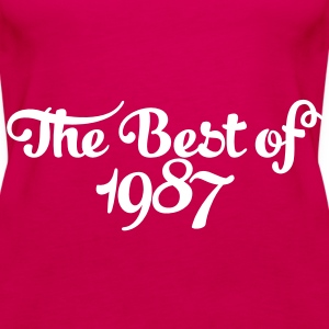 Geburtstag - Birthday - the best of 1987 (de) Tops - Frauen Premium Tank Top