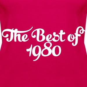 Geburtstag - Birthday - the best of 1980 (pl) Topy - Tank top damski Premium