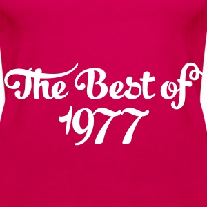 Geburtstag - Birthday - the best of 1977 (no) Topper - Premium singlet for kvinner