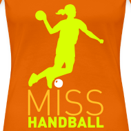Motif ~ Miss Handball Orange