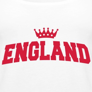 england with crown Tops - Frauen Premium Tank Top