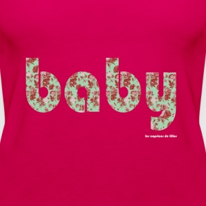 baby liberty vertrouge Topper - Premium singlet for kvinner